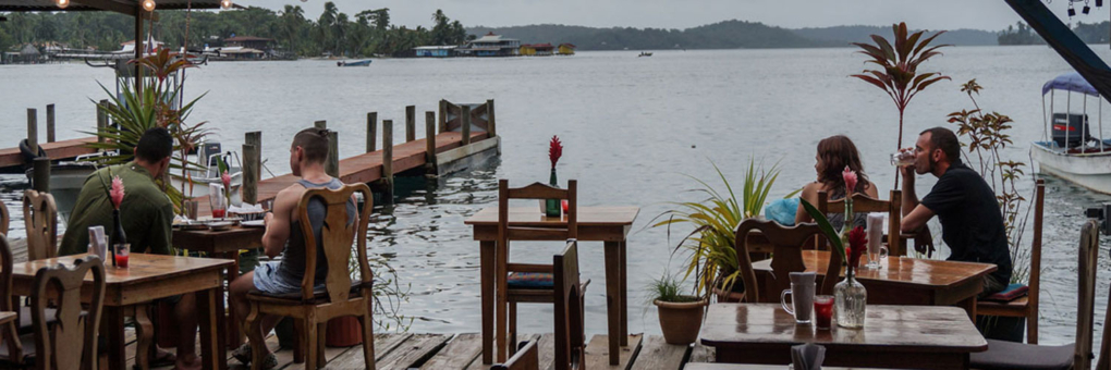 Dine and Enjoy the Best Views in Bocas Town